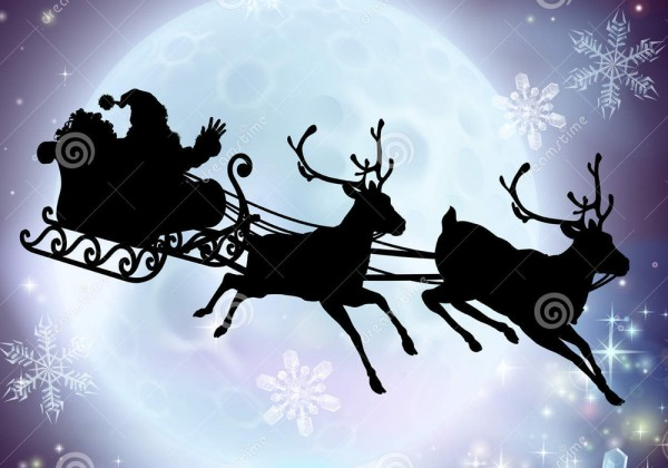 santa-moon-sleigh-silhouette-flying-his-reindeer-front-full-35347664