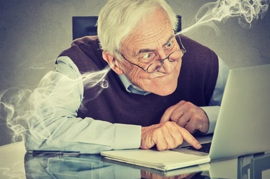 stressed-elderly-old-man-using-260nw-307307456
